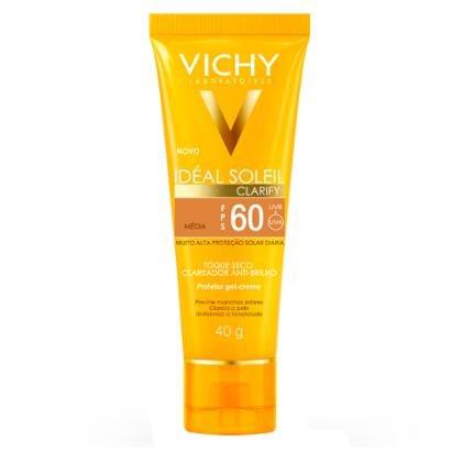 Protetor Solar Idéal Soleil Clarify FPS60 Vichy Media 40g