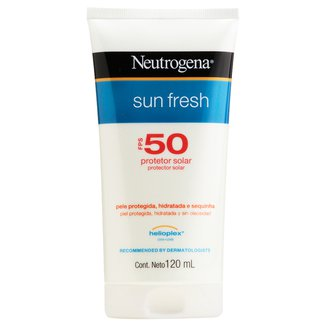 Protetor Solar Neutrogena Sun Fresh FPS 50 120ml