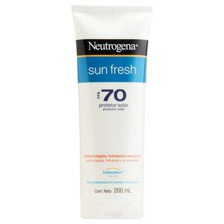 Protetor Solar Neutrogena Sun Fresh FPS 70 200ml