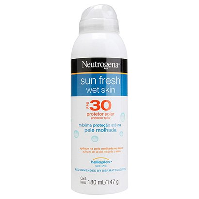 Protetor Solar Neutrogena Sun Fresh Wet Skin FPS 30 180ml