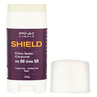 Protetor Solar Pinkcheeks Shield Bastão FPS 60 45g