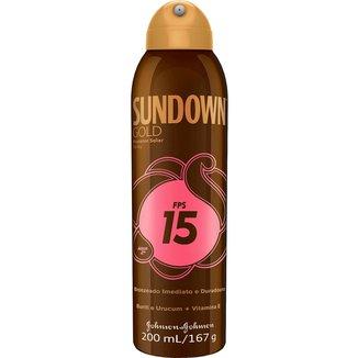 Protetor Solar Sundown Gold Spray FPS 15 200ml