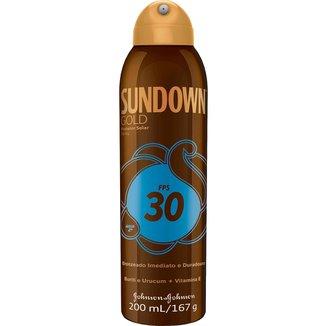 Protetor Solar Sundown Gold Spray FPS 30 200ml