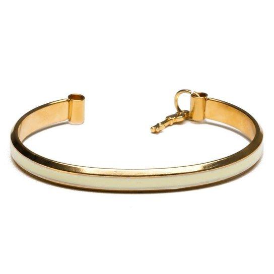 Pulseira Key Design Clymer Feminina - Dourado
