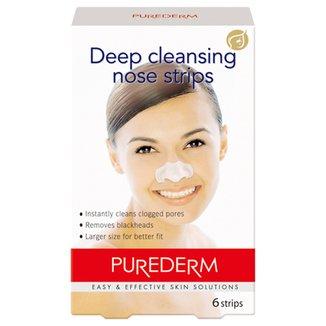 Purederm Adesivo Removedor de Cravos Limpeza Profunda c/ 6