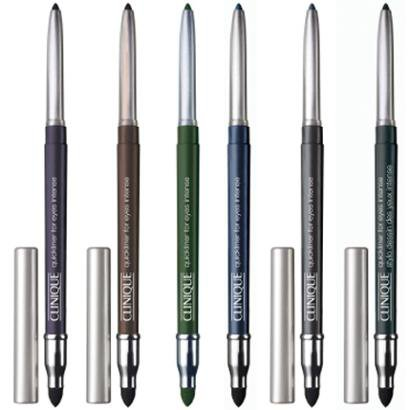 Quickliner For Eyes Intense Clinique - Lápis para Olhos 01 - Intense Black
