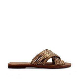Rasteira Anacapri bronze