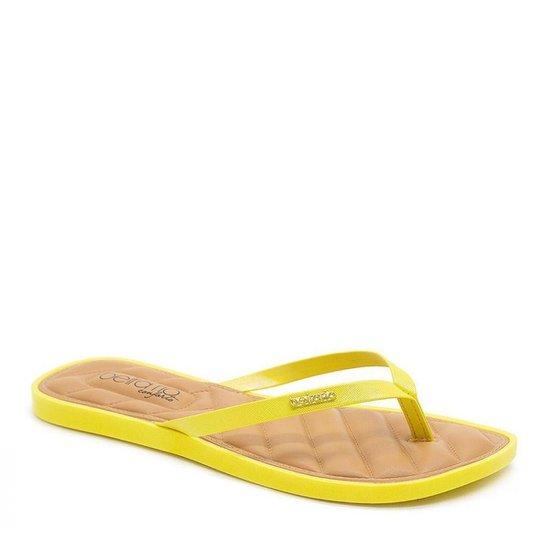 Rasteira Beira Rio 8447.100 Amarela - Amarelo