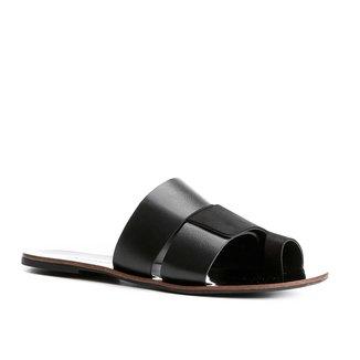 Rasteira Couro Shoestock Slide Color Mix