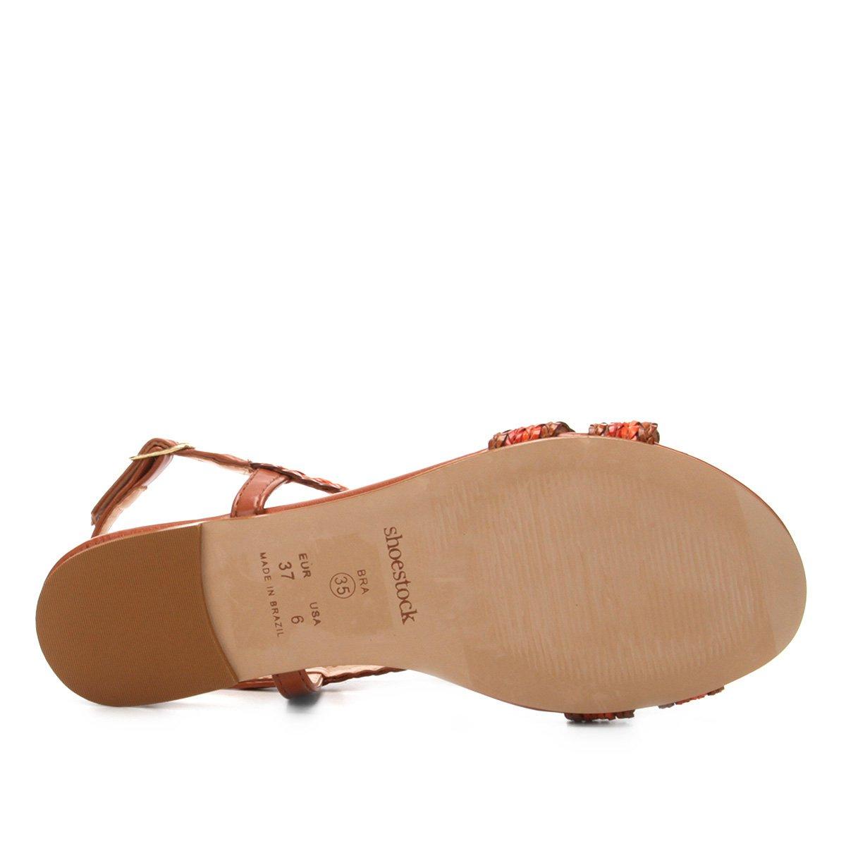 Couro Rasteira Marrom Shoestock Tranças Couro Rasteira Rasteira Marrom Tranças Marrom Rasteira Shoestock Couro Shoestock Tranças 5pw0vv