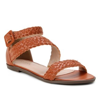 Rasteira Couro Shoestock Tressê
