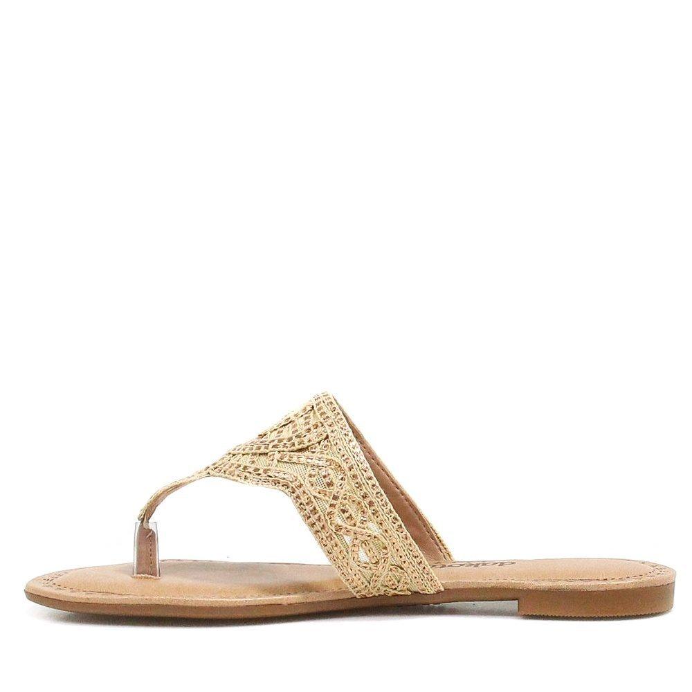 Dourado com Rasteira Tela Dakota Metalizada Dakota Rasteira nYSzzwqF