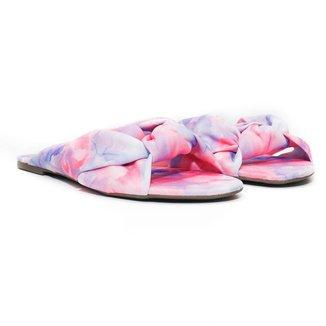 Rasteira Flat - Adrielly, Tie Dye Feminina