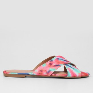 Rasteira Look Fashion Tie Dye
