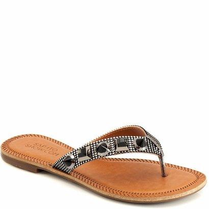 Rasteira Metalizada Sapato Show 393