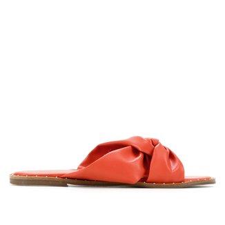 Rasteira Shoestock Comfy Tira Entrelaçada