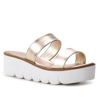 Rasteira Shoestock Comfy Tiras Duplas