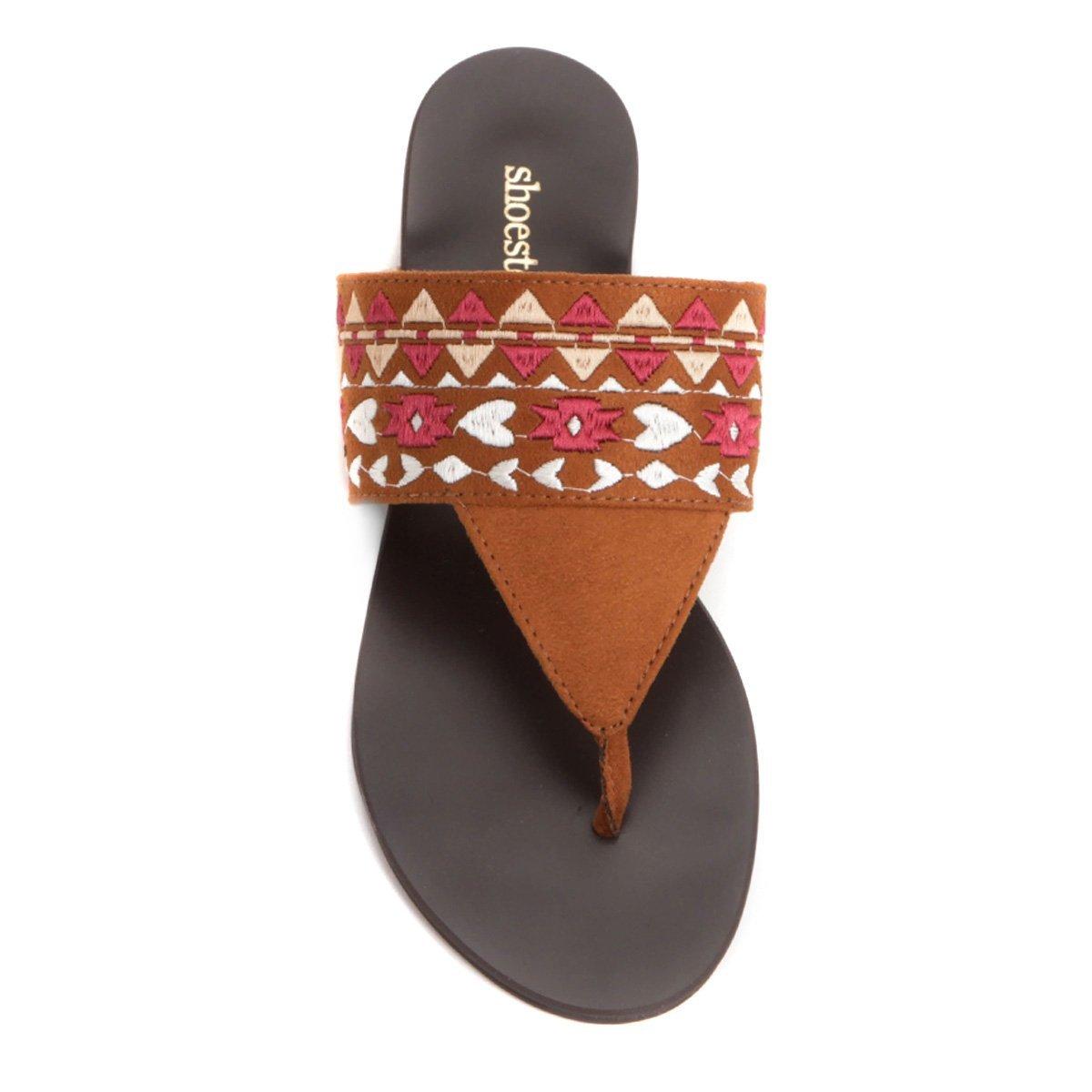 Rasteira Rasteira Étnica Shoestock Caramelo Caramelo Shoestock Étnica UawrpUq