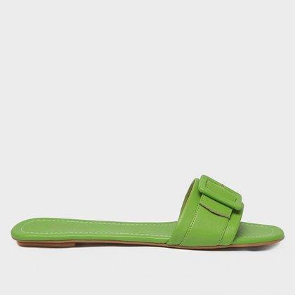 Rasteira Shoestock For You Fivela Feminina