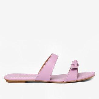 Rasteira Shoestock For You Laço Feminina