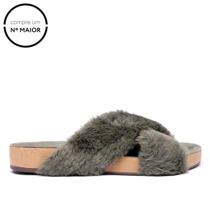 Rasteira Shoestock For You Pelo