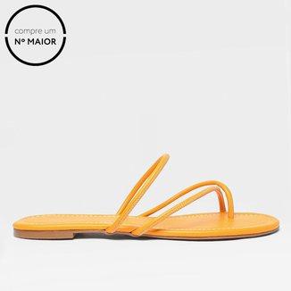 Rasteira Shoestock For You Toe Sandal Feminina