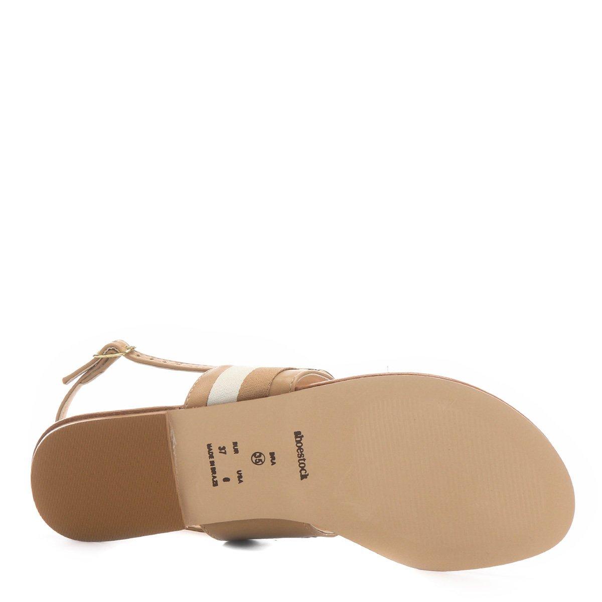 Rasteira Shoestock Shoestock Rasteira Nude Gorgurão Nude Gorgurão Rasteira apgqwxx4z