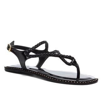 Rasteira Shoestock Gota Strass