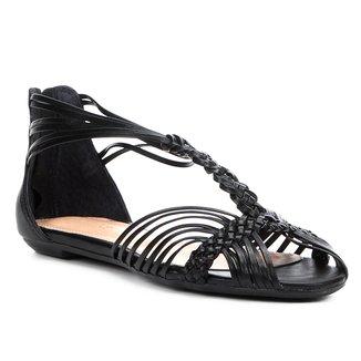 Rasteira Shoestock Macramê