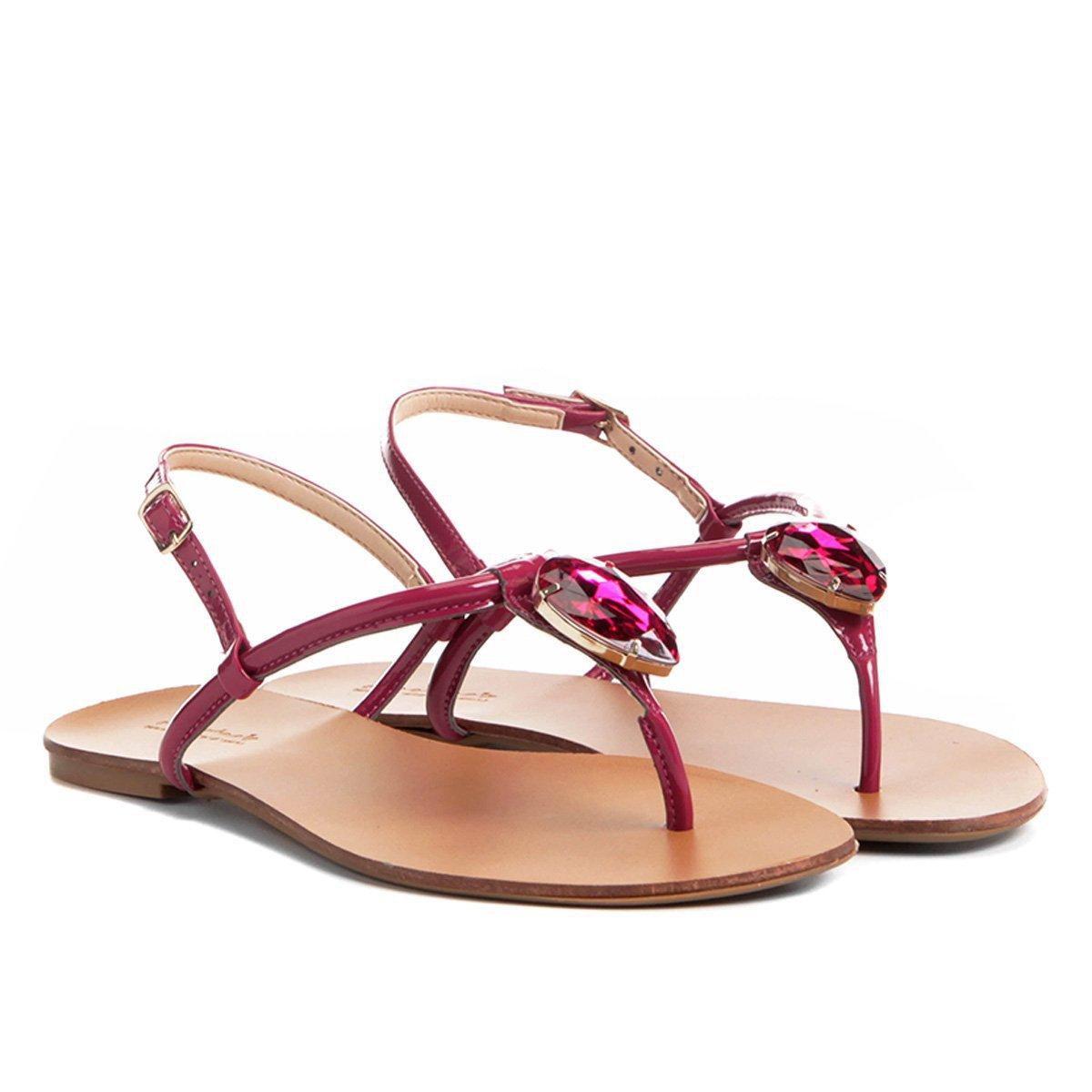 Shoestock Rasteira Pedra Shoestock Pink Rasteira Cristal Pink Cristal Shoestock Pedra Rasteira Pedra OSAqO1Y