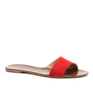 Rasteira Shoestock Slide Assimétrico