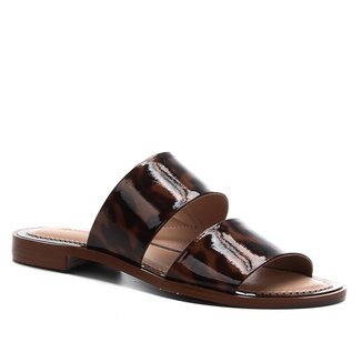 Rasteira Shoestock Slide New Tartan