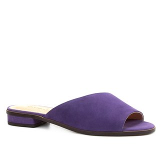 Rasteira Shoestock Slide Nobuck Color