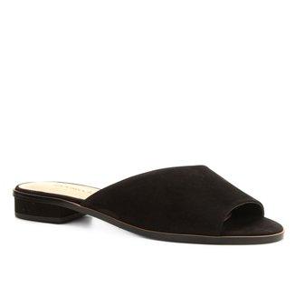 Rasteira Shoestock Slide Nobuck Color