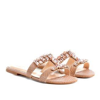 Rasteira Shoestock Slide Pedras