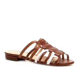 Rasteira Shoestock Transpassada