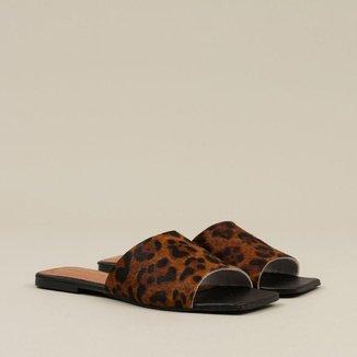 Rasteira Sonho dos Pés Leopardo Feminina