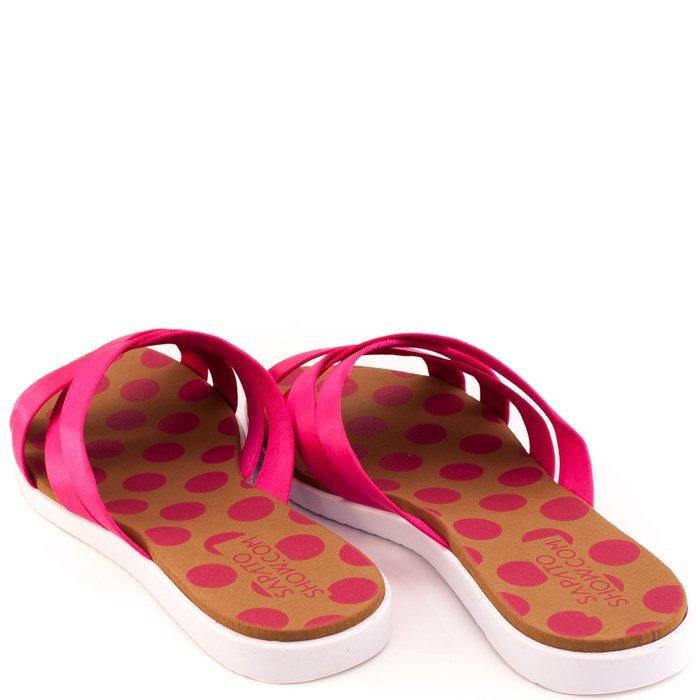 Trançada Show Sapato Marshmallow 32961t0533 Marshmallow Pink Trançada Rasteira Cetim Rasteira Cetim n8xIBwfqTw