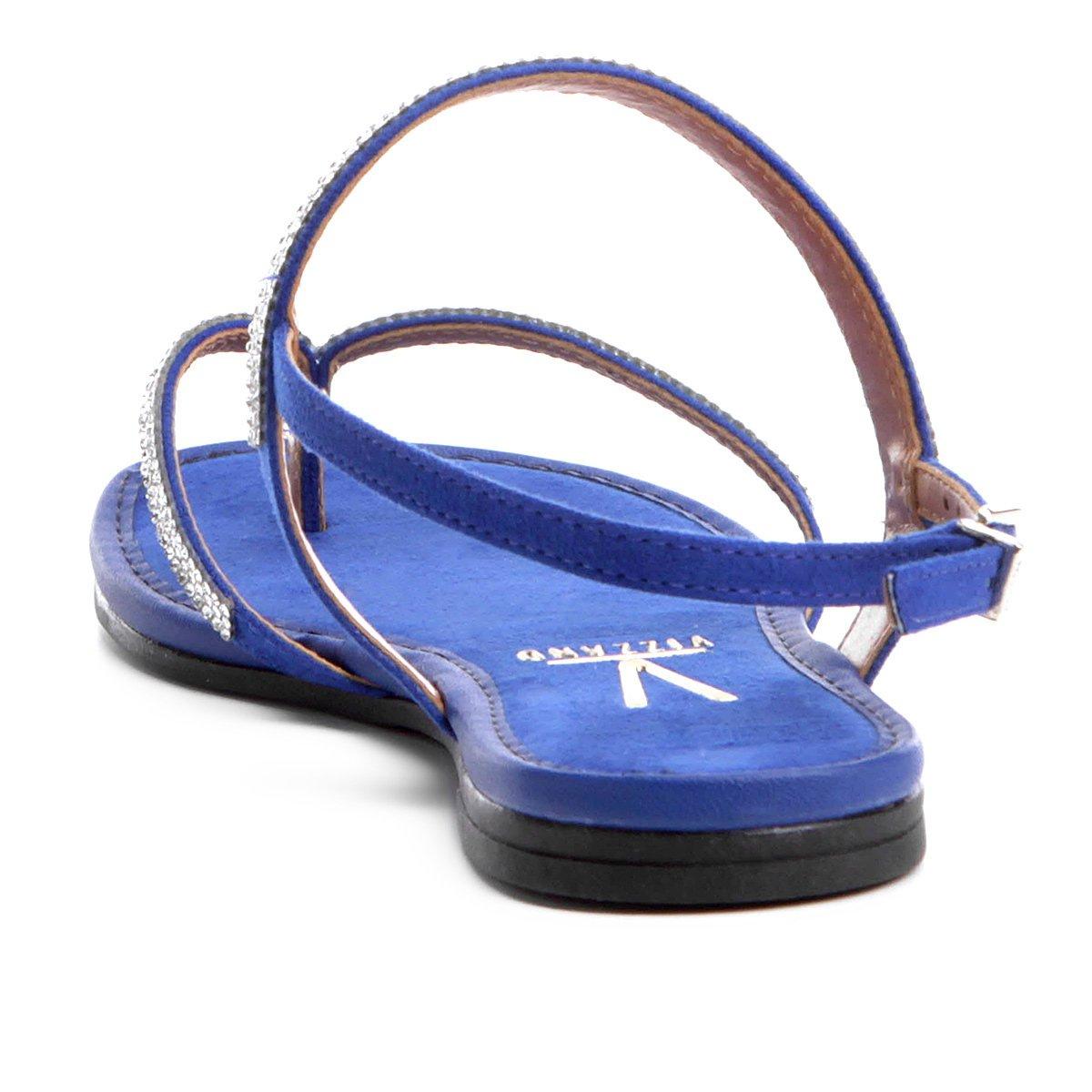 Azul Strass Vizzano Rasteira Rasteira Royal Vizzano Tira Tira Royal Vizzano Azul Rasteira Strass RvYqHP