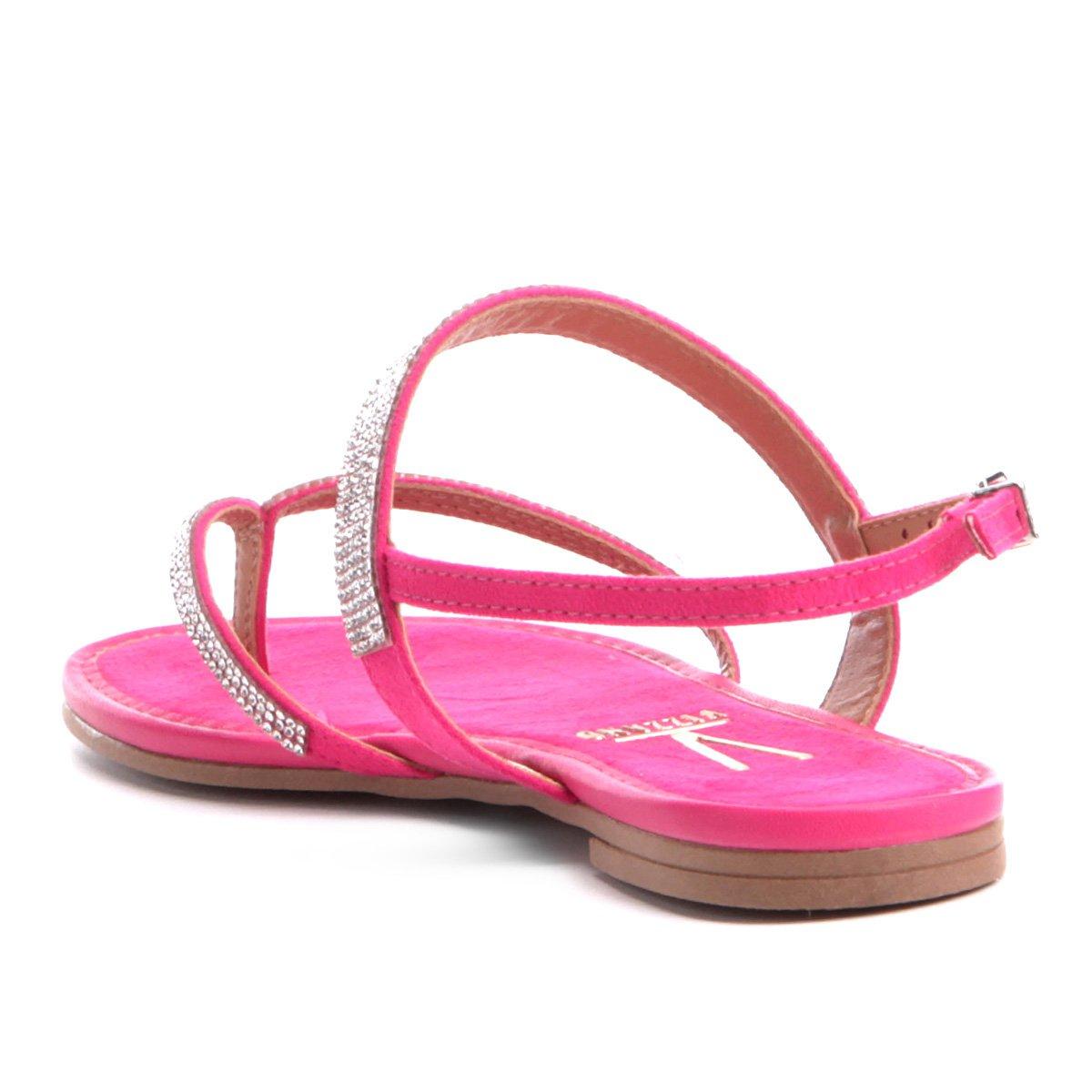 Vizzano Rasteira Strass Pink Rasteira Rasteira Vizzano Tira Tira Vizzano Strass Tira Pink 88AOTf