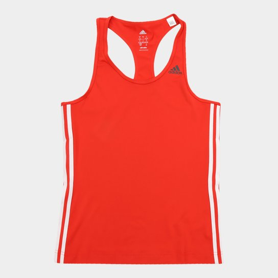Regata Adidas D2M 3S Feminina - Vermelho