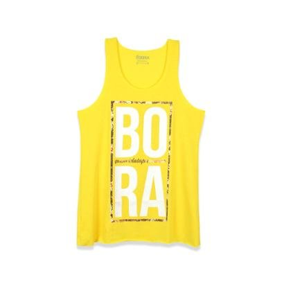 Regata Bora Floral Bora   Amarela-Feminino