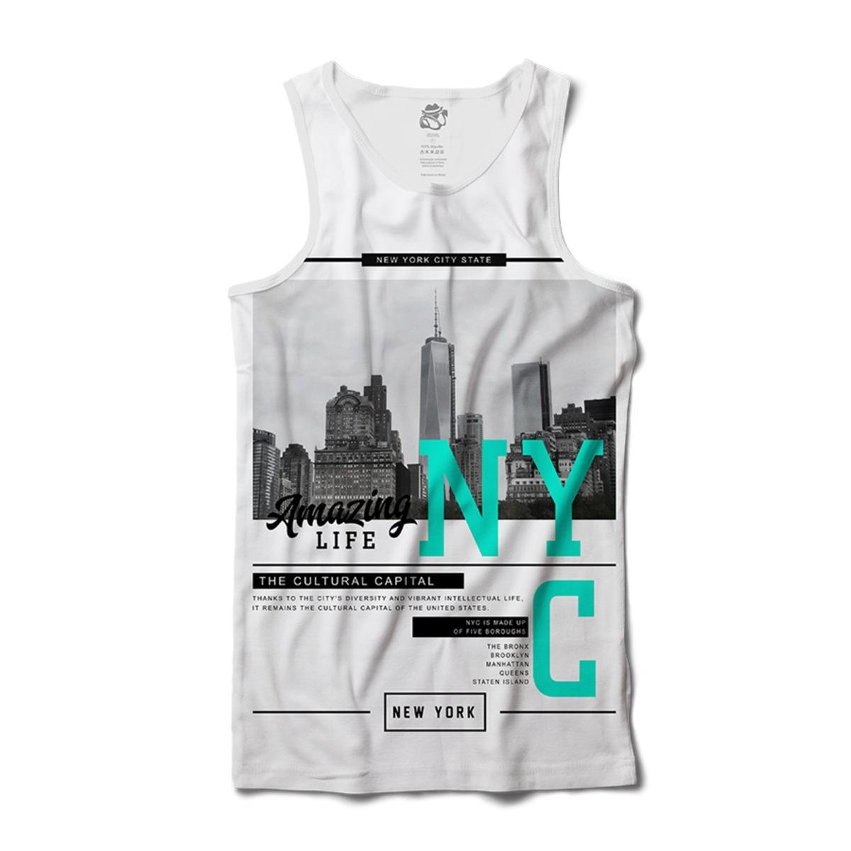 672938eb9 Regata BSC New York Capital da Cultura Sublimada Masculina - Compre ...