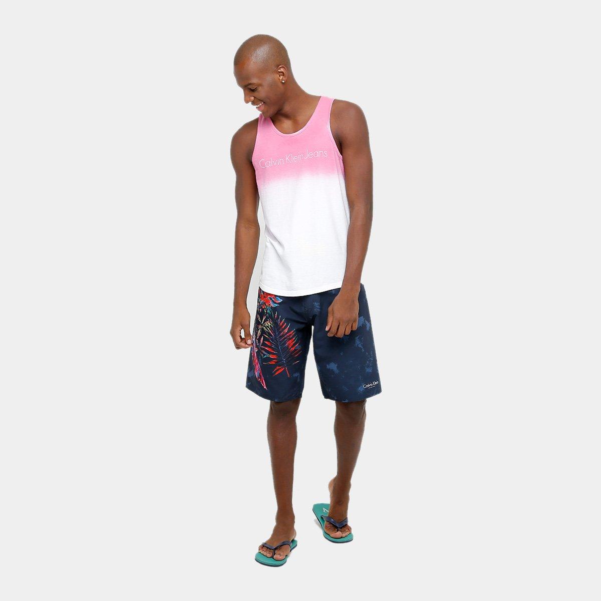 Regata Calvin Klein Degradê Masculina - Compre Agora  0a187610a52