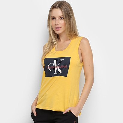 Regata Calvin Klein Estampada Feminina