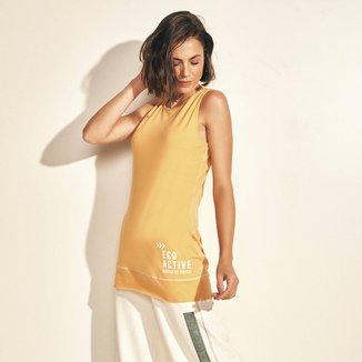 Regata Colcci Eco Active Alongada Costuras Feminina
