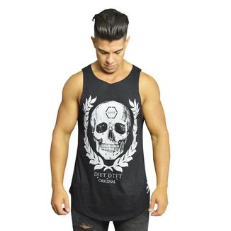 Regata Diet Fitness Tradicional  Skull Arch Masculina