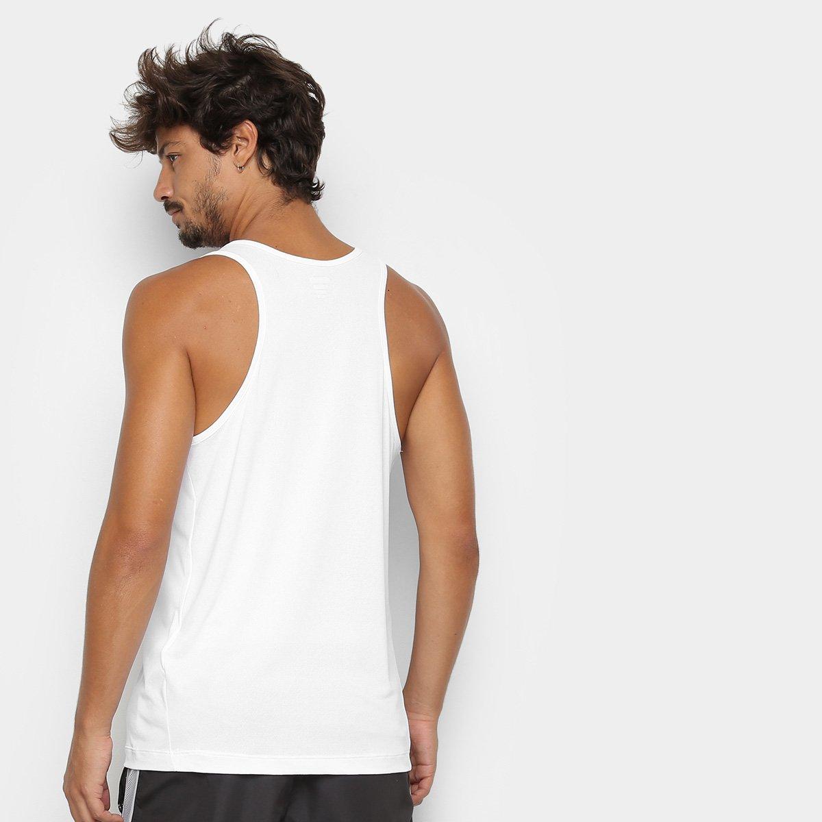 Regata Fila Match III Masculina - Preto e Branco - Compre Agora ... f09b7964be7