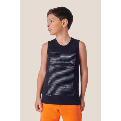 Regata Infantil Estampada Mini Sm Persiana Reserva Mini Masculina