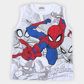 Regata Infantil Marvel Spider Man Masculina
